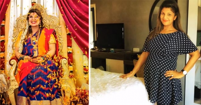 South Indian Actresses Baby Shower Function & Pregnancy Photos