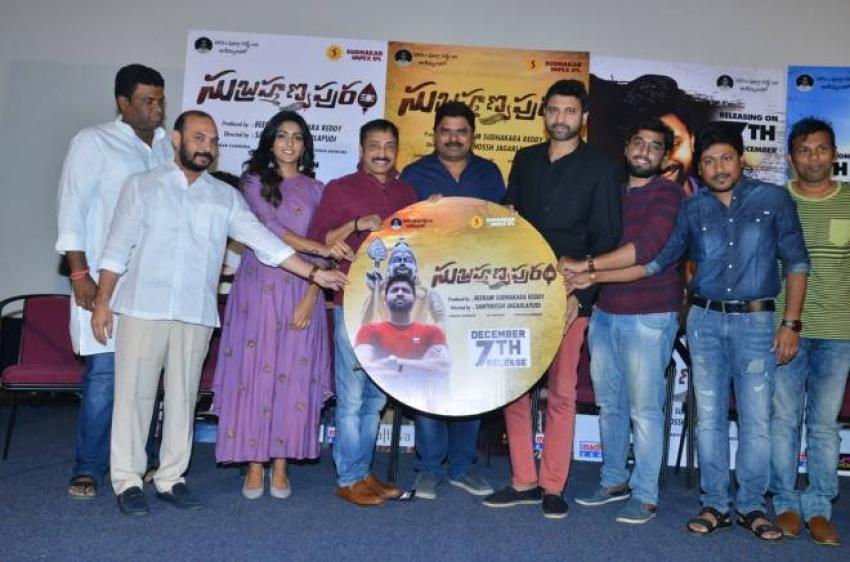 Subrahmanyapuram BIG CD Launch Photos