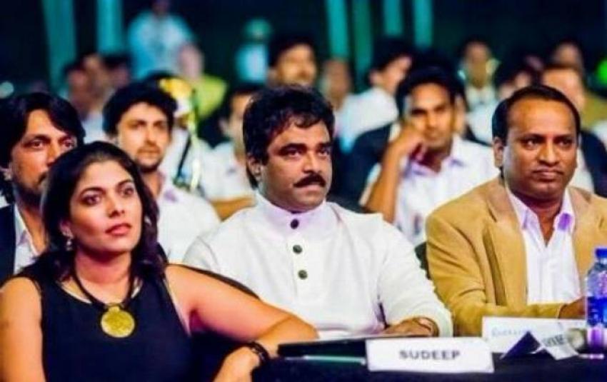Sudeep Family Photos