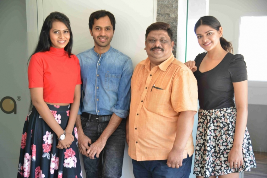 Swrtha Rathna Film Press Meet Photos