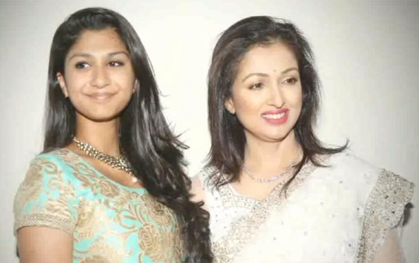 Tamil Actress Real Life Beautiful Daughters Photos