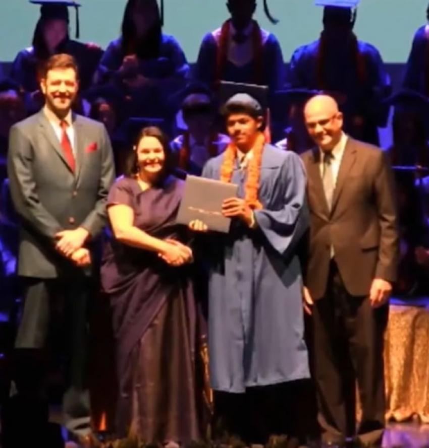 Vijay Son Jason Sanjay School Graduation And Unseen Photos