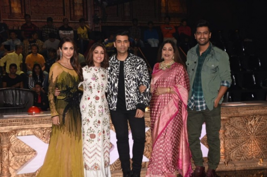 Yammi Gautam & Vicky Kaushal Promote URI On The Sets Of Indias Got Talent Photos