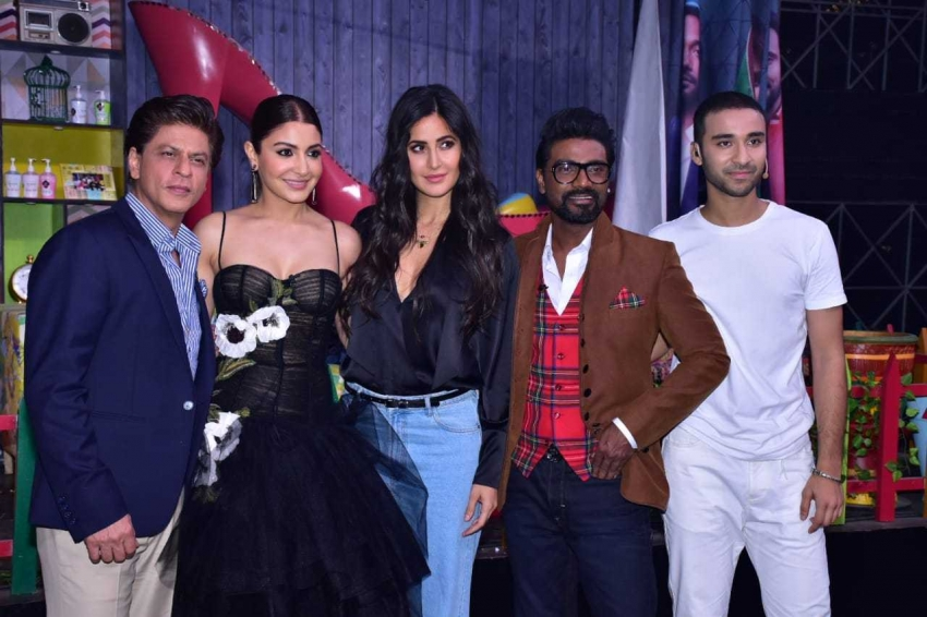 Zero Movie Cast Promote Zero On the Set Of Dance Plus 4 Photos
