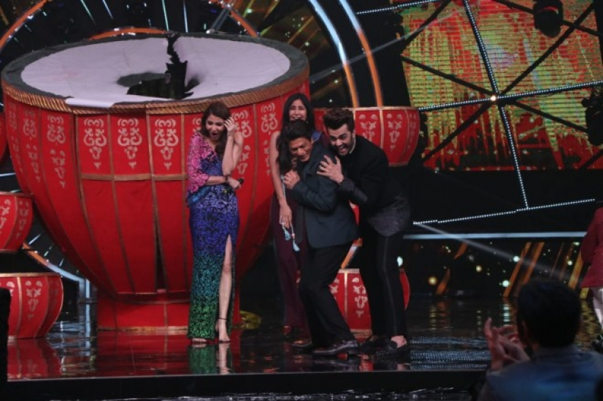 Zero Movie Promotions On The Sets Of Indian Idol Photos