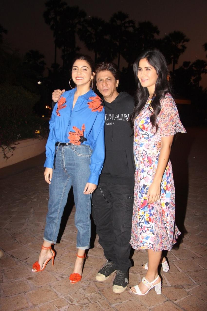 Zero Movie Promotions At Taj Lands End Hotel, Mumbai Photos