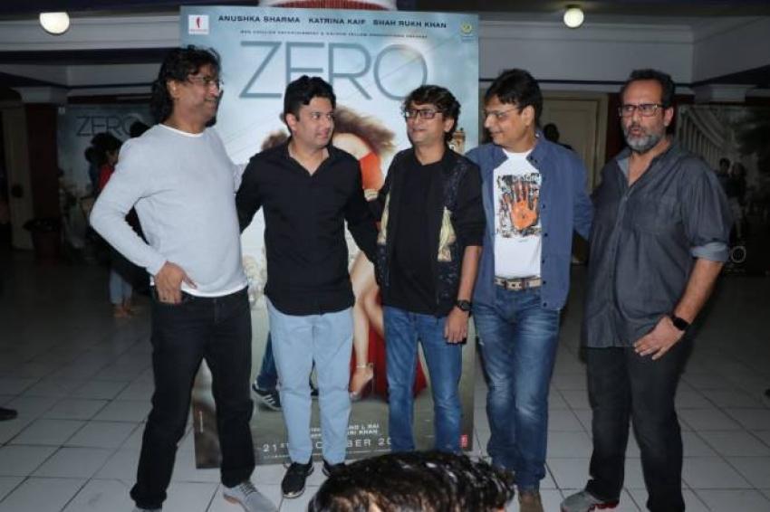 Zero Movie Song Launch Photos