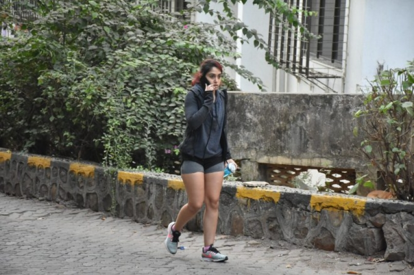 Aamir Khan's daughter Ira Khan spotted in Bandra Photos