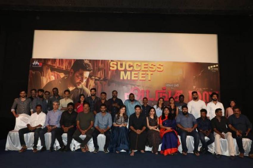 Adanga Maru Success Meet Photos