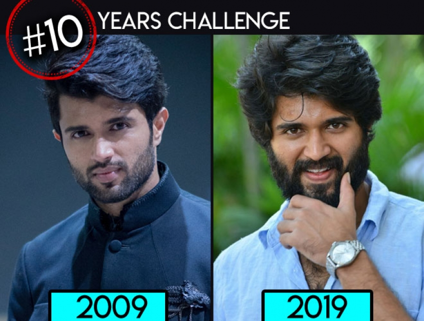 Celebrities Do The 10-Year Challenge Photos