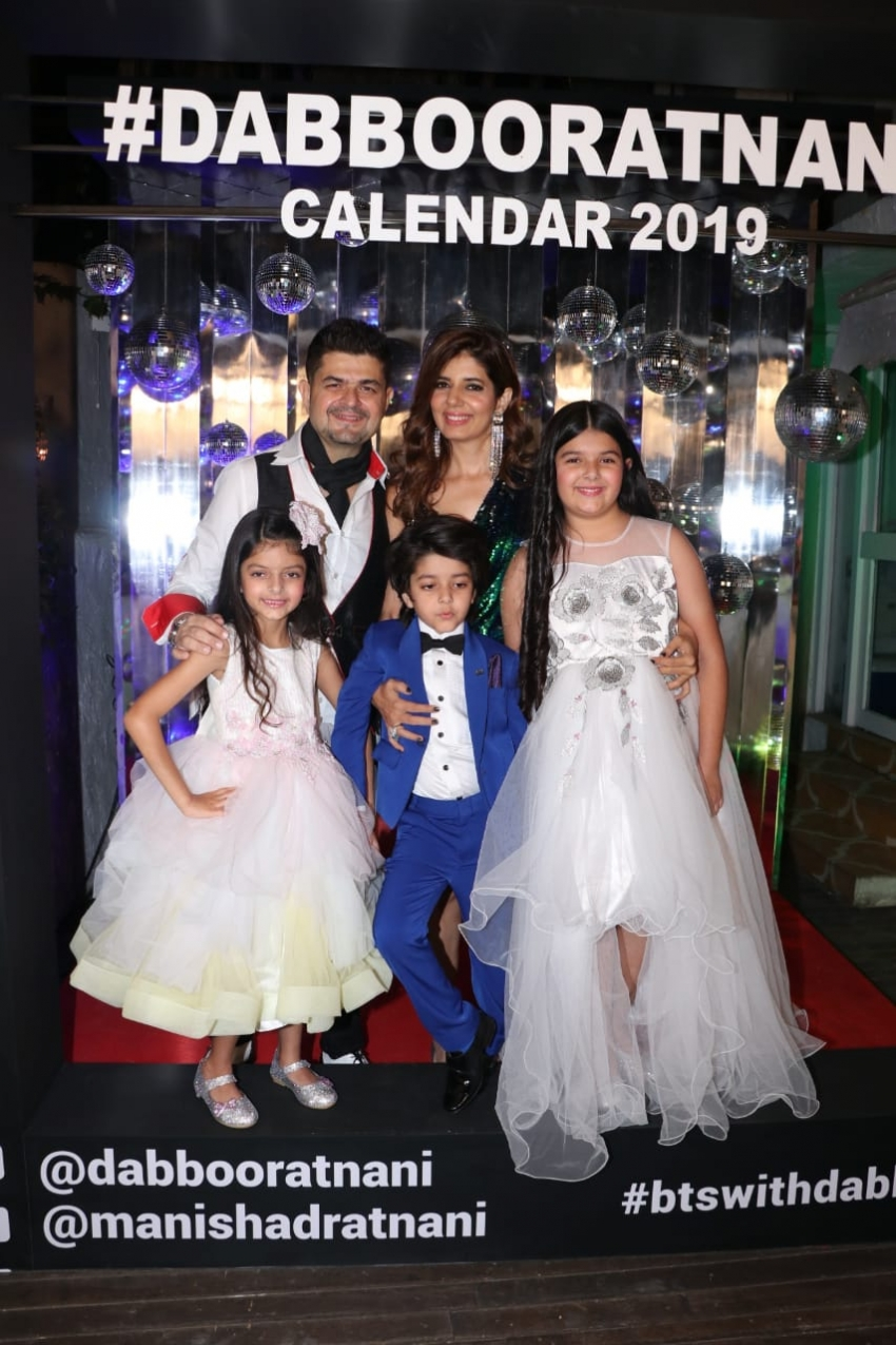 Dabboo Ratnani's Calendar 2019 Launch Photos
