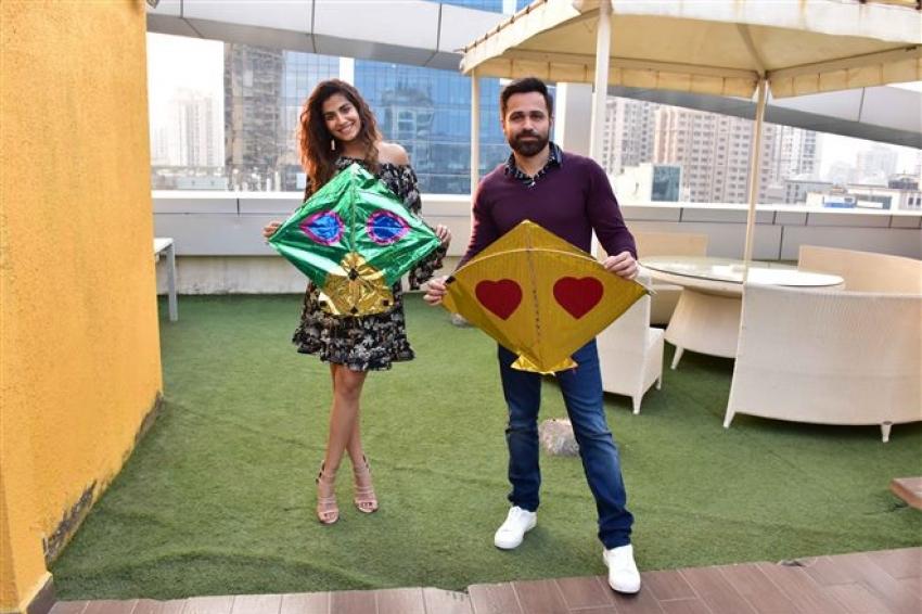 Emraan Hashmi Promote Cheat India At T-Series Office Photos