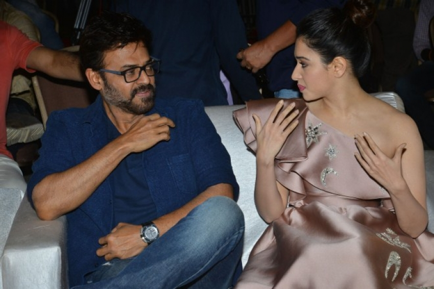 F2 Fun And Frustration Pre Release Function Photos