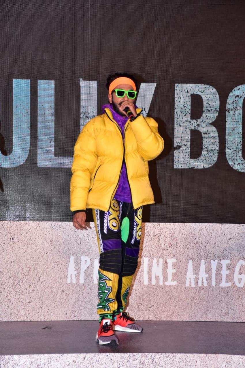 Gully Boy Trailer Launch Photos