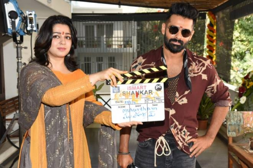 Ismart Shankar Movie Opening Photos