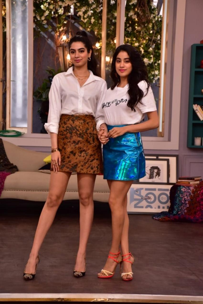 Janhvi Kapoor & Kushi Kapoor On The Sets Of Vogue BFFs Photos