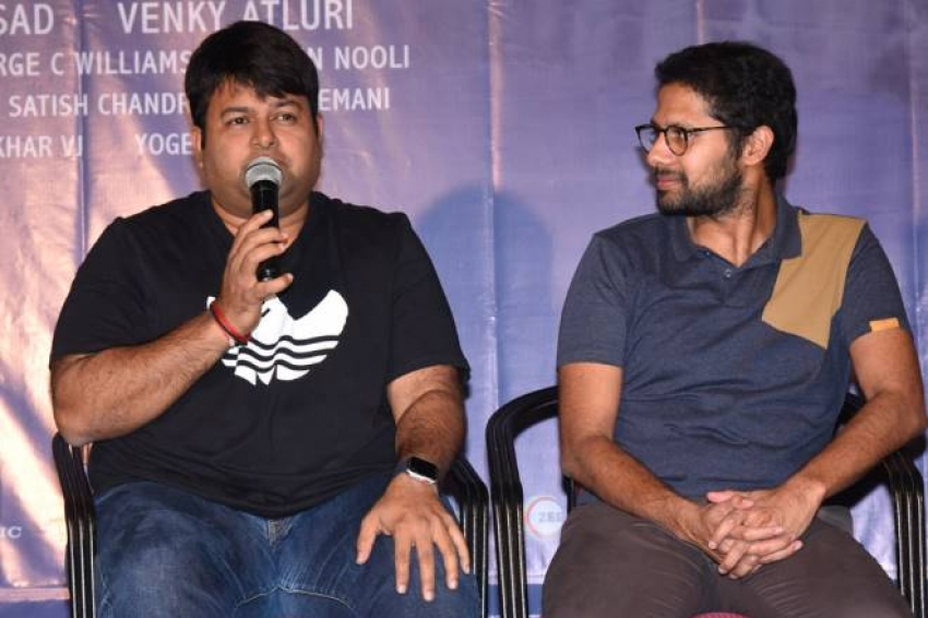 Mr Majnu Movie Success Celebration Photos