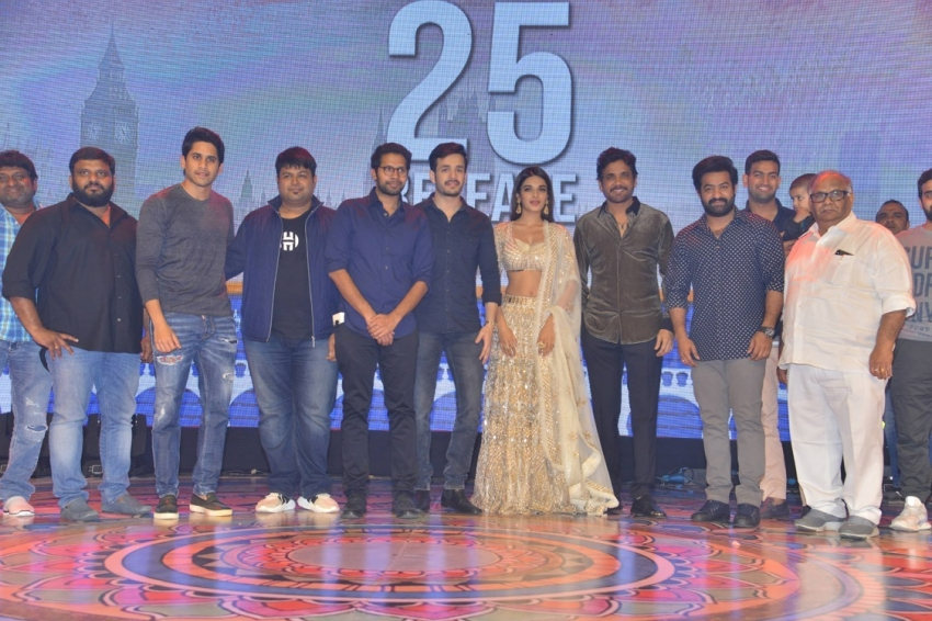 Mr Majnu Pre Please Event Photos