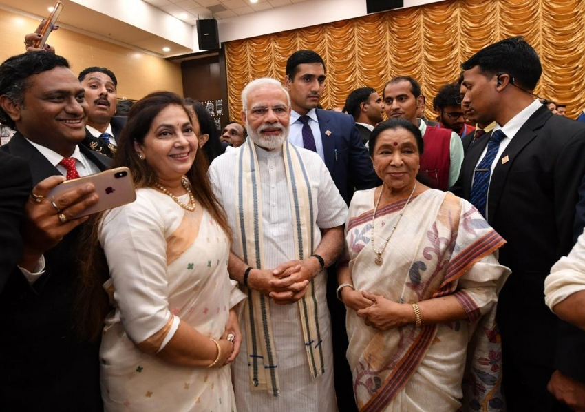 Narendra Modi Inaugurates National Museum On Indian Cinema Photos
