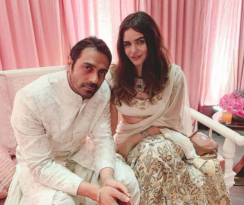 New Love Birds Of Bollywood Arjun Rampal & Gabriella Demetriades Photos