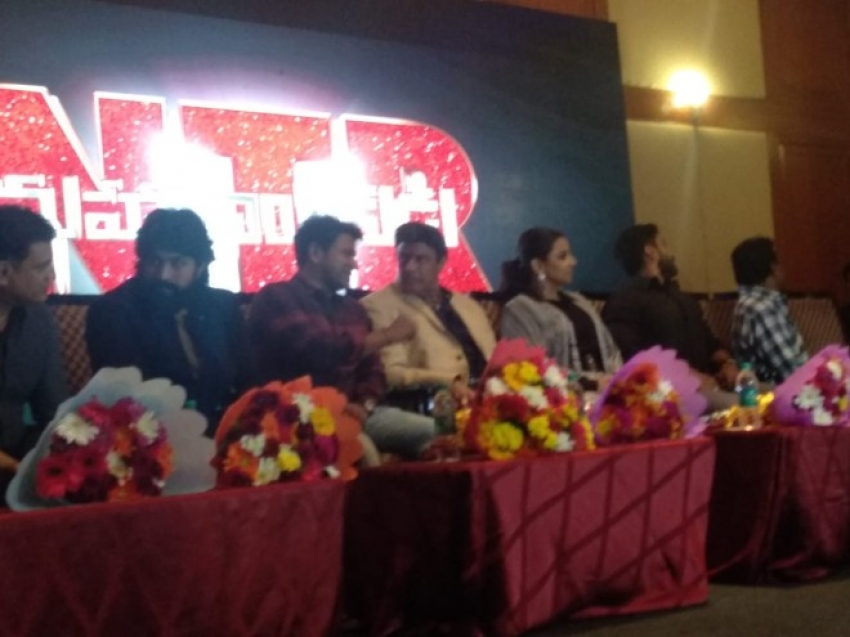 NTR Telugu Movie Press Meet In Bangalore Photos