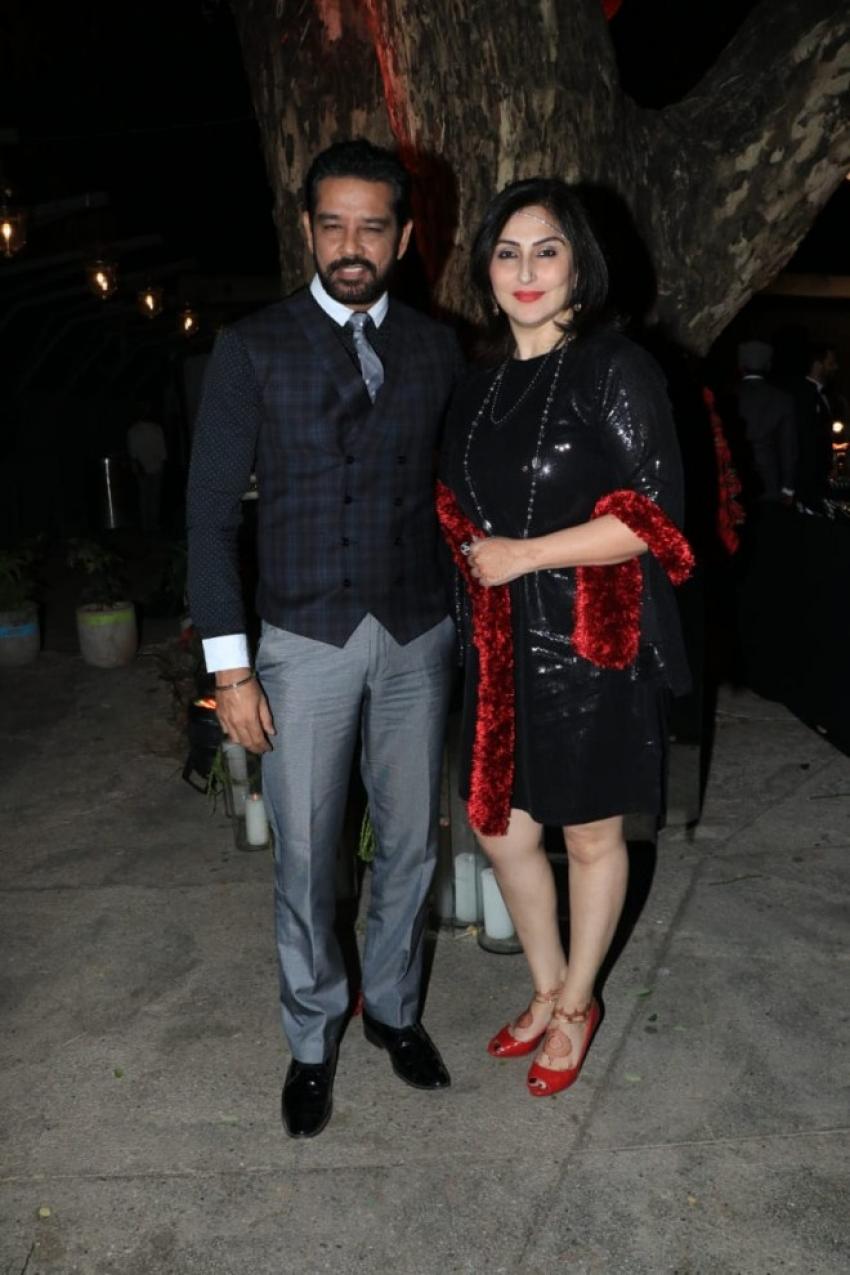 Prateik Babbar and Sanya Sagar wedding reception party in Mumbai Photos