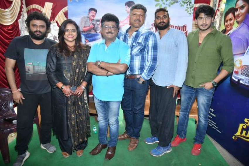 Premier Padmini Film Shooting Press Meet Photos