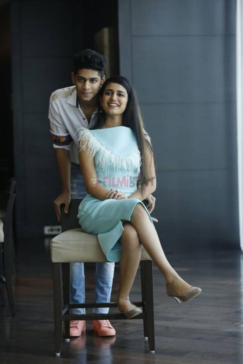 Priya Prakash Varrier And Roshan Promote Lovers Day Movie In Hyderabad Photos
