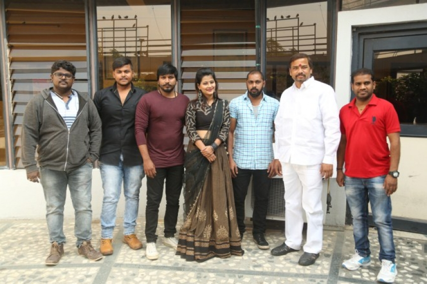 Raj Kandukuri Released Rave Naa Cheliya Movie Logo Photos