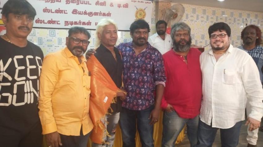 Tamil Cinema Stunt Union 2019 Press Release Photos
