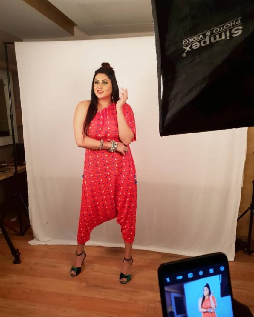 This is How Namitha Looks After Marriage Photos