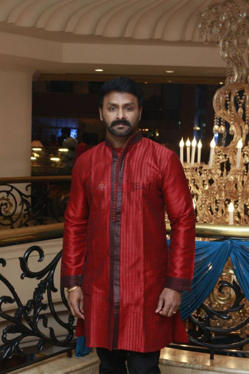 Actor Director Mano Bala Son Harish - Priya Wedding Reception Photos