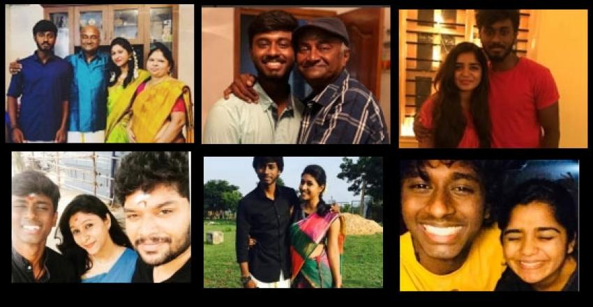 Actor MS Bhaskar Family Photos