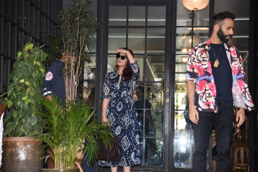 Akshay Kumar and Twinkle Khanna Spotted At Soho house In Juhu Photos