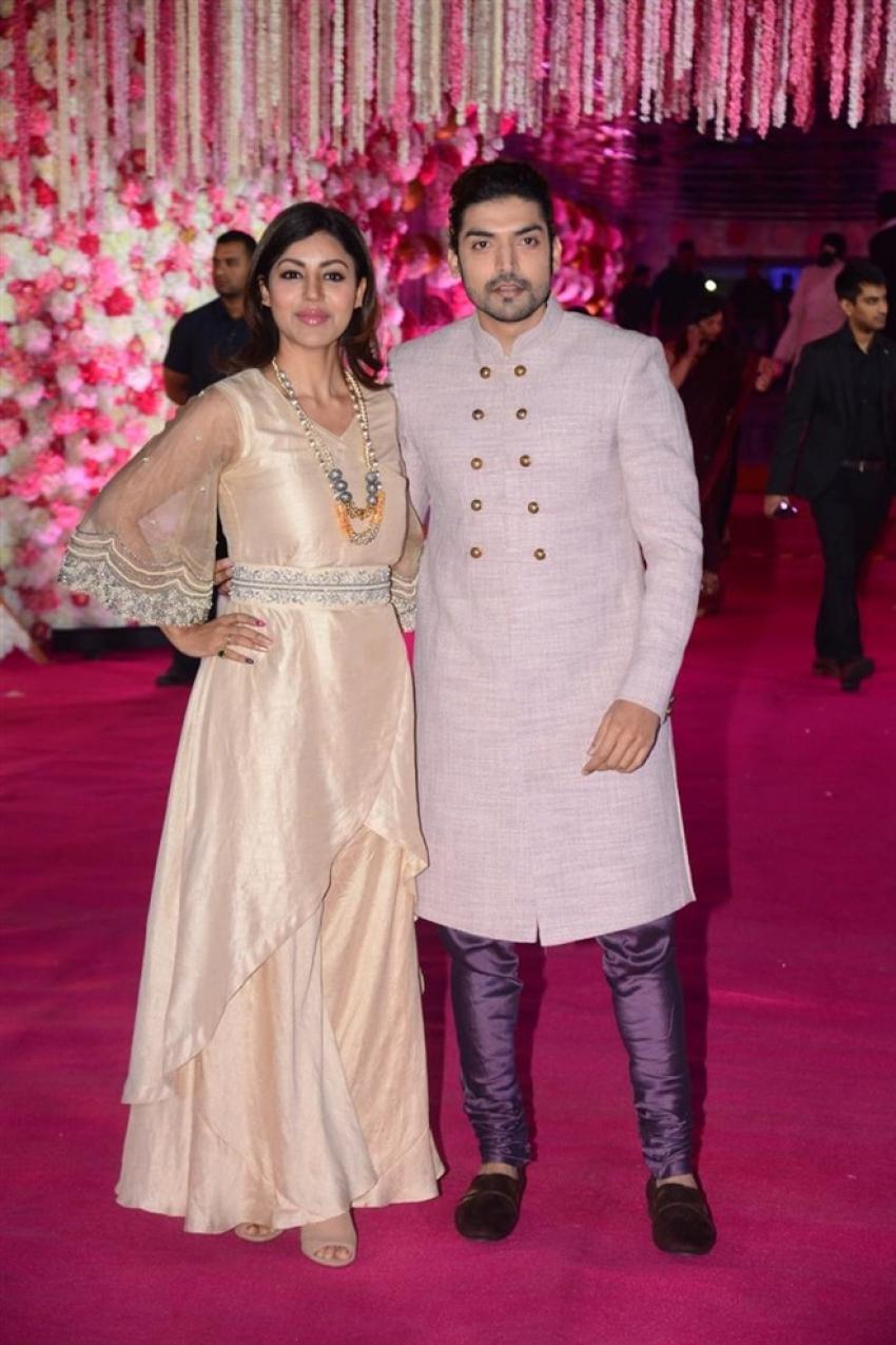Azhar Morani & Tanya Seth Wedding Reception Photos
