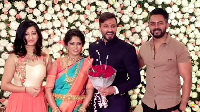 Bigg Boss Contestant Jagan gets Engaged To Rakshitha Muniyappa Photos