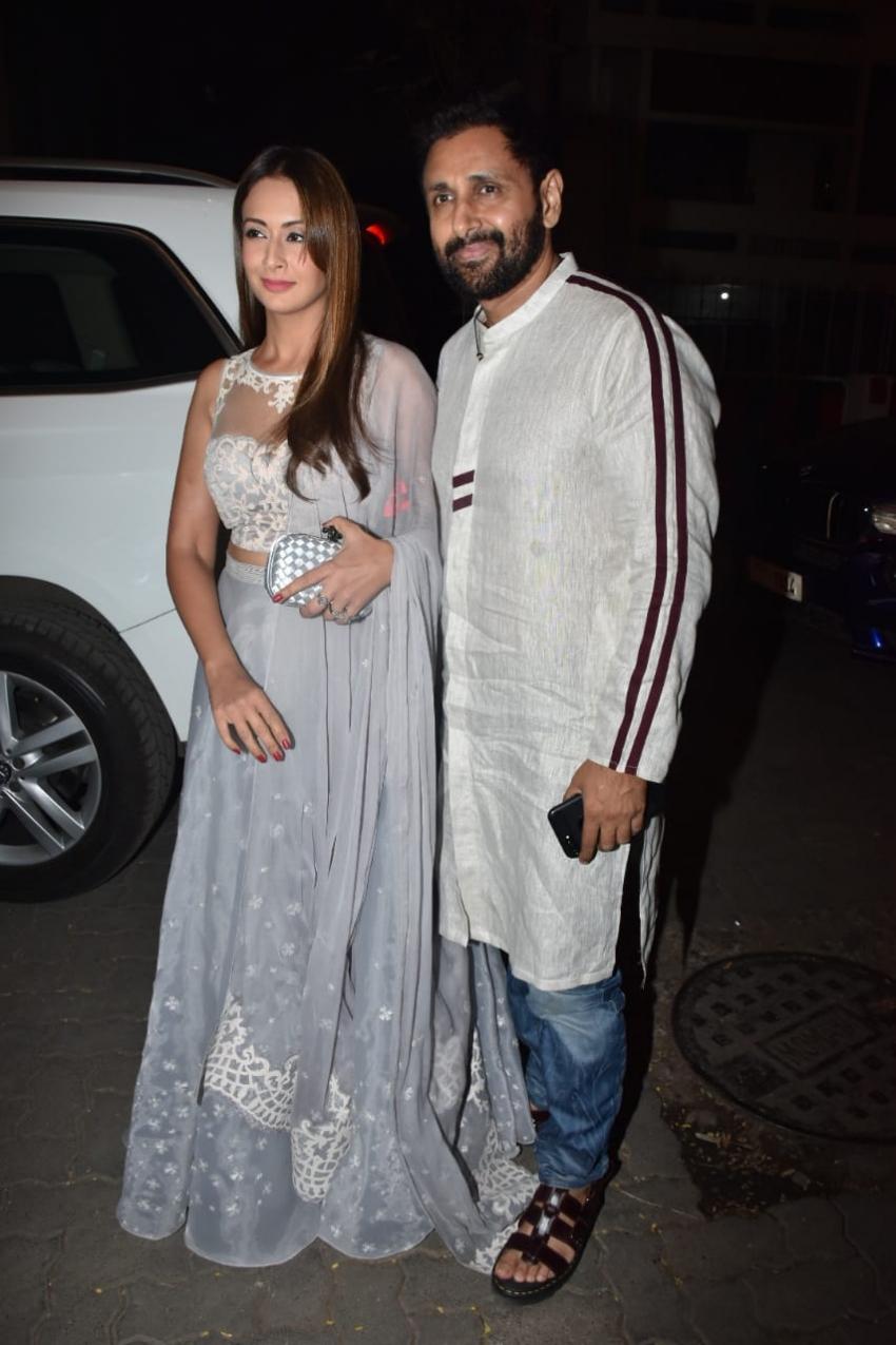 Celebs At Ekta Kapoor's Son Ravie Kapoor's Naming Ceremony Photos