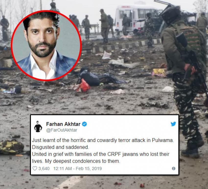 Celebs React Angrily To Terror Attack On Soldiers Photos