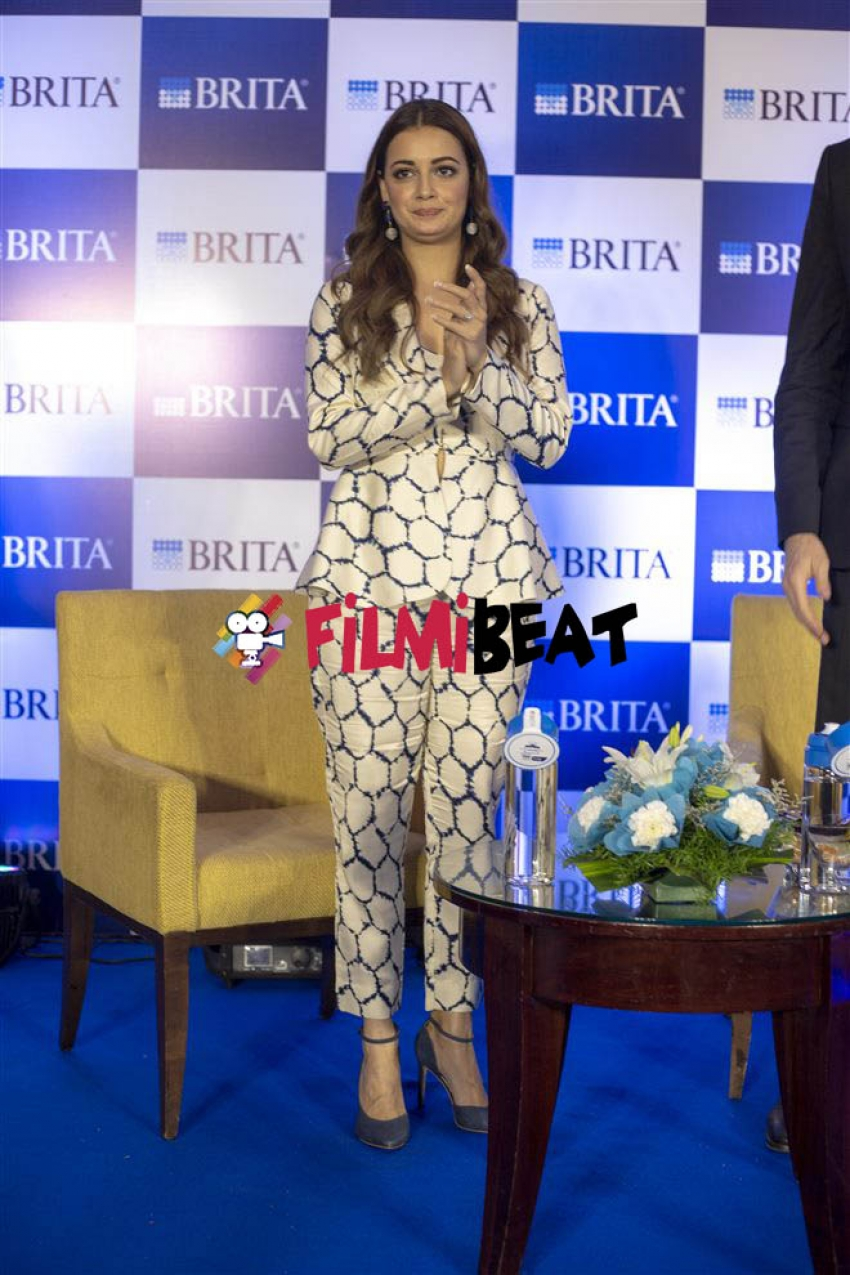 Dia Mirza At Brita Water Purifier Launch In Bangalore Photos
