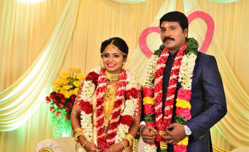 Jangiri Madhumitha And Moses Joel Marriage Photos