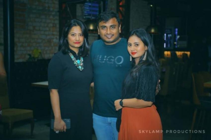 Kannada Actress Amulya Husband Jagadish Birthday Party Photos