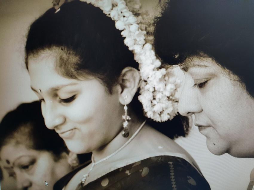 Kannada Actress Malashri Family Photos