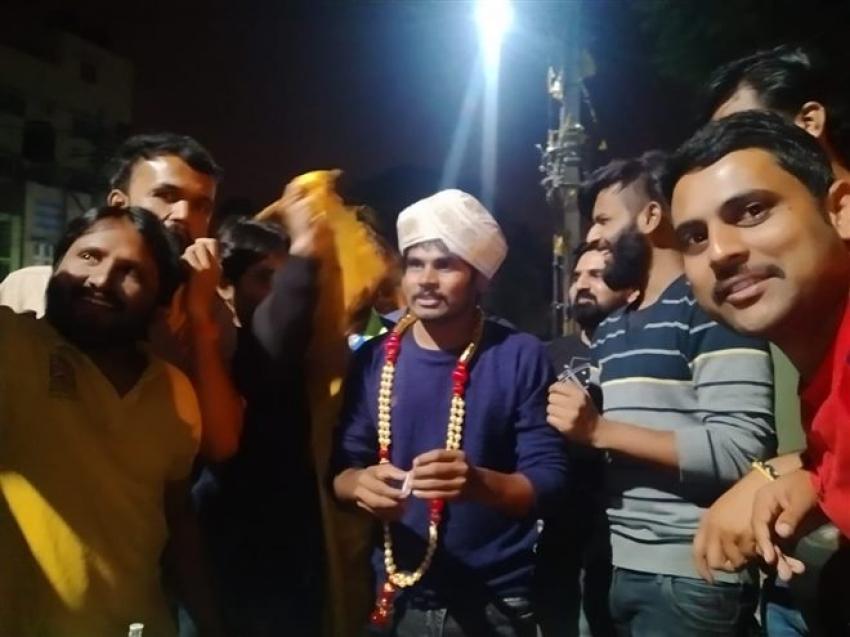 Kannada Comedy Actor Dharmanna Birthday Celebrations Photos