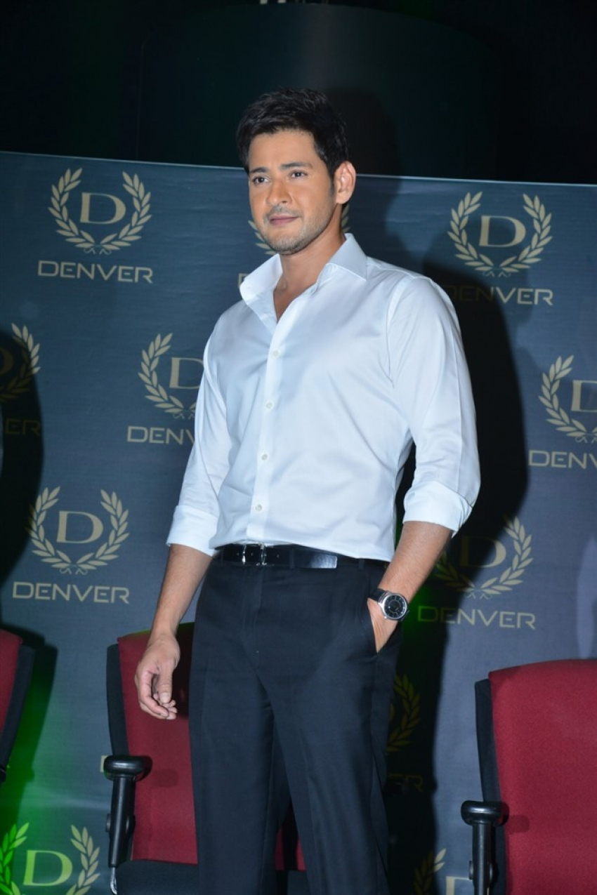 Mahesh Babu as Brand Ambassador for Denver Perfume Photos