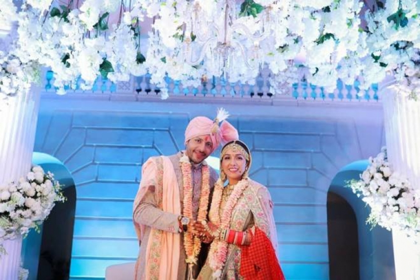 Neeti Mohan And Nihaar Pandya Wedding Photos
