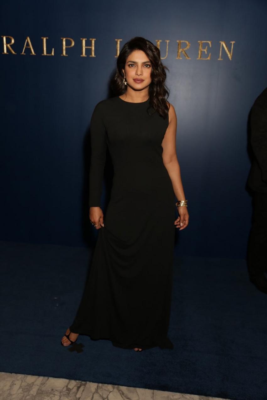 Priyanka Chopra at Ralph Lauren's Store Launch Photos