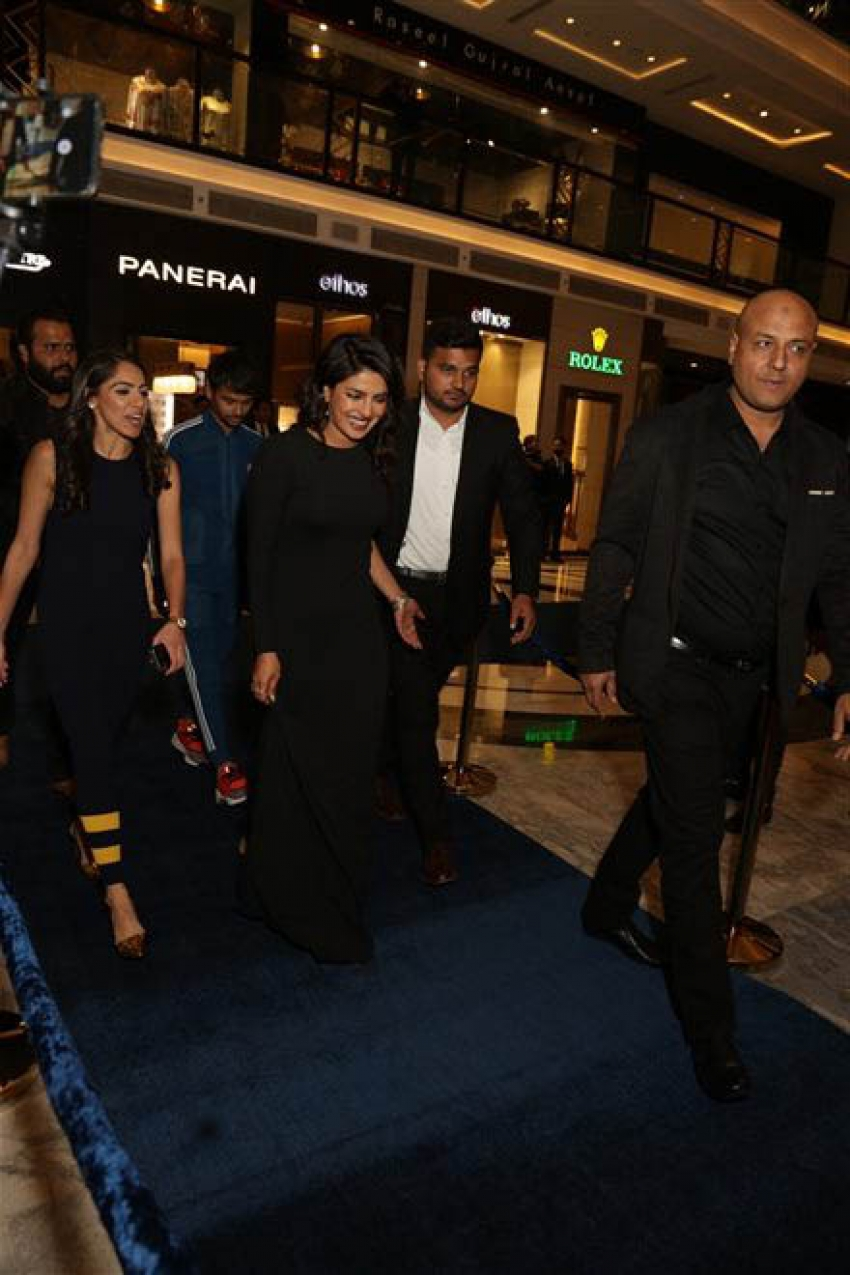 Priyanka Chopra At Ralph Lauren Store Launch In New Delhi Photos