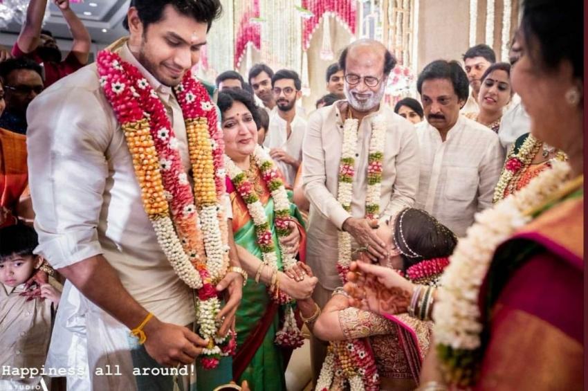 Soundarya Rajinikanth And Vishagan Vanangamudi's Wedding Photos