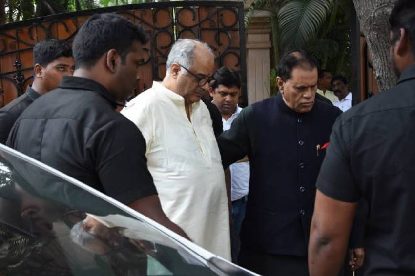 Sridevi Death Anniversary Pooja in Chennai Photos