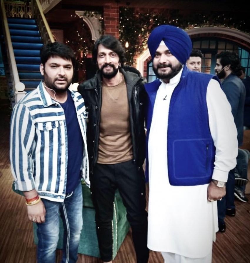 Sudeep  Promote Paliwan On Kapil Sharma Show Photos